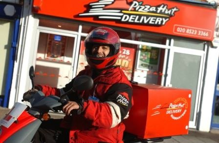 Approved Pizza Hut Motorcycle Trainers for Day 1 & Day 2